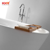 New Solid Surface Soaking Freestanding Bathtub