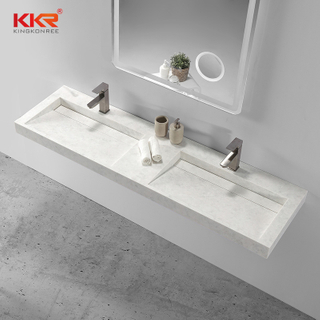 Solid Surface Small Slope wall hung basin