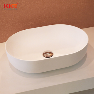 Acrylic Solid Surface Countertop Wash Basin KKR-1151