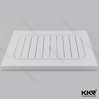 Unique Solid Stone Shower Tray Sizes KKR-T016
