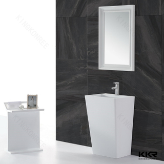 White Solid Surface Mirror KKR-1579