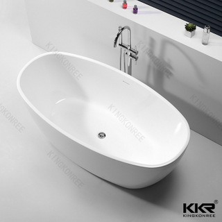 Solid Surface Freestanding Bathtub KKR-B065