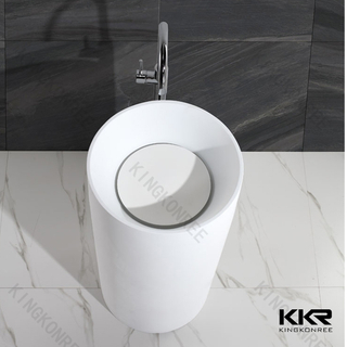 Round Solid Surface Washbasins KKR-1381