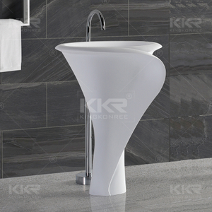 Flower Shape Solid Surface Basins KKR-1395