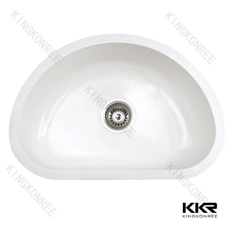 White Color Undermount Sink KKR-MT28
