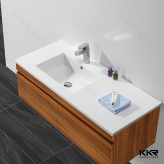 Solid Surface Stone Cabinet Basins KKR-1556