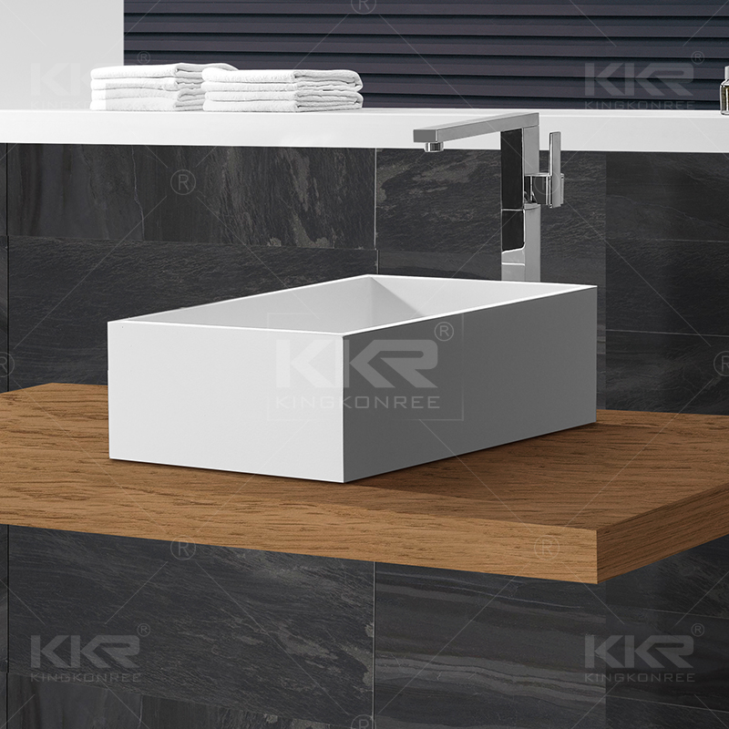 Solid Surface Stone Wash Hand Basin KKR-1590-1