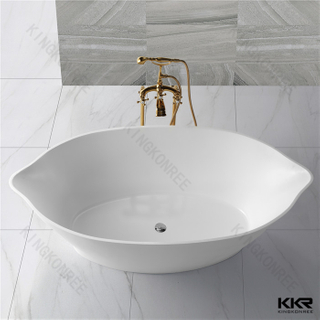 Resin stone freestanding bath KKR-B011