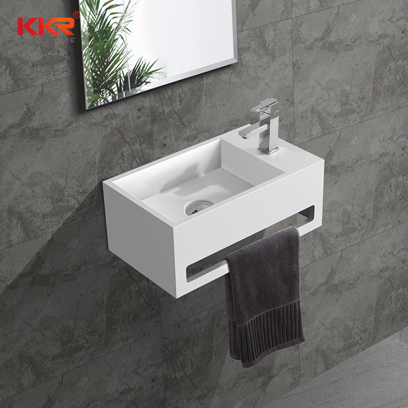 Solid Surface Wall Mounted Basins KKR-1105-A