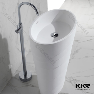 Solid Surface Bathroom Art Basin KKR-1398