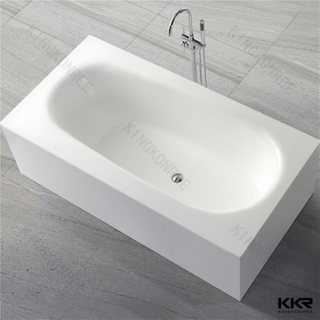 Solid Surface Stone Bathtub KKR-B035