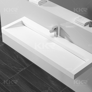 Solid Surface Wall Mounted Basin KKR-1265