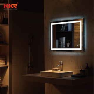 LED Sanitary Ware Defogg Bathroom Vanity Mirror KKR-8022