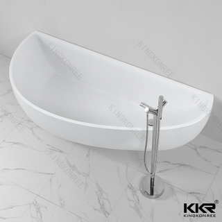 White freestanding bathtub KKR-B004