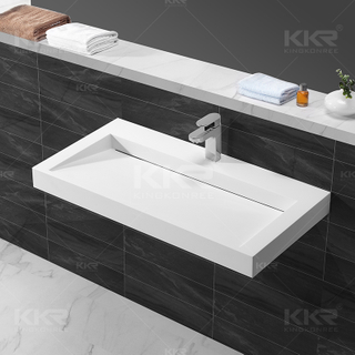 Stone Resin Wall Mounted Basin KKR-1263